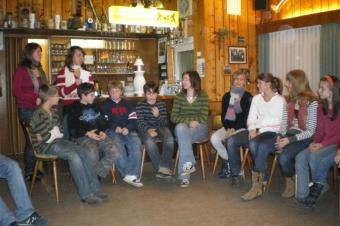 Weihnachtsfeier Jugendkapelle