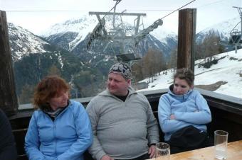 Offene Skiausfahrt